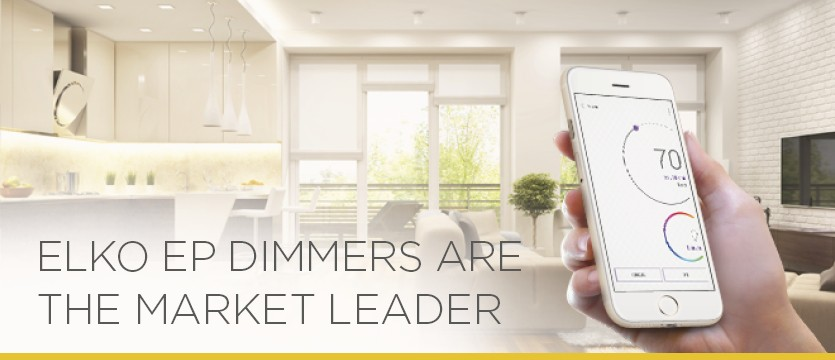 ELKO EP dimmers are the market leader photo