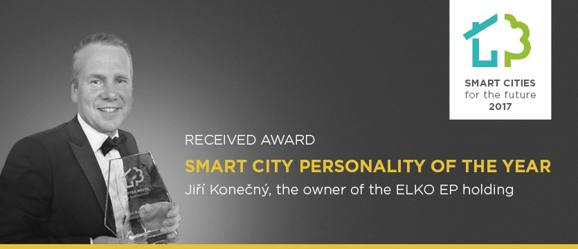 Jiří Konečný awarded The Smart City Personality of the year 2017 photo