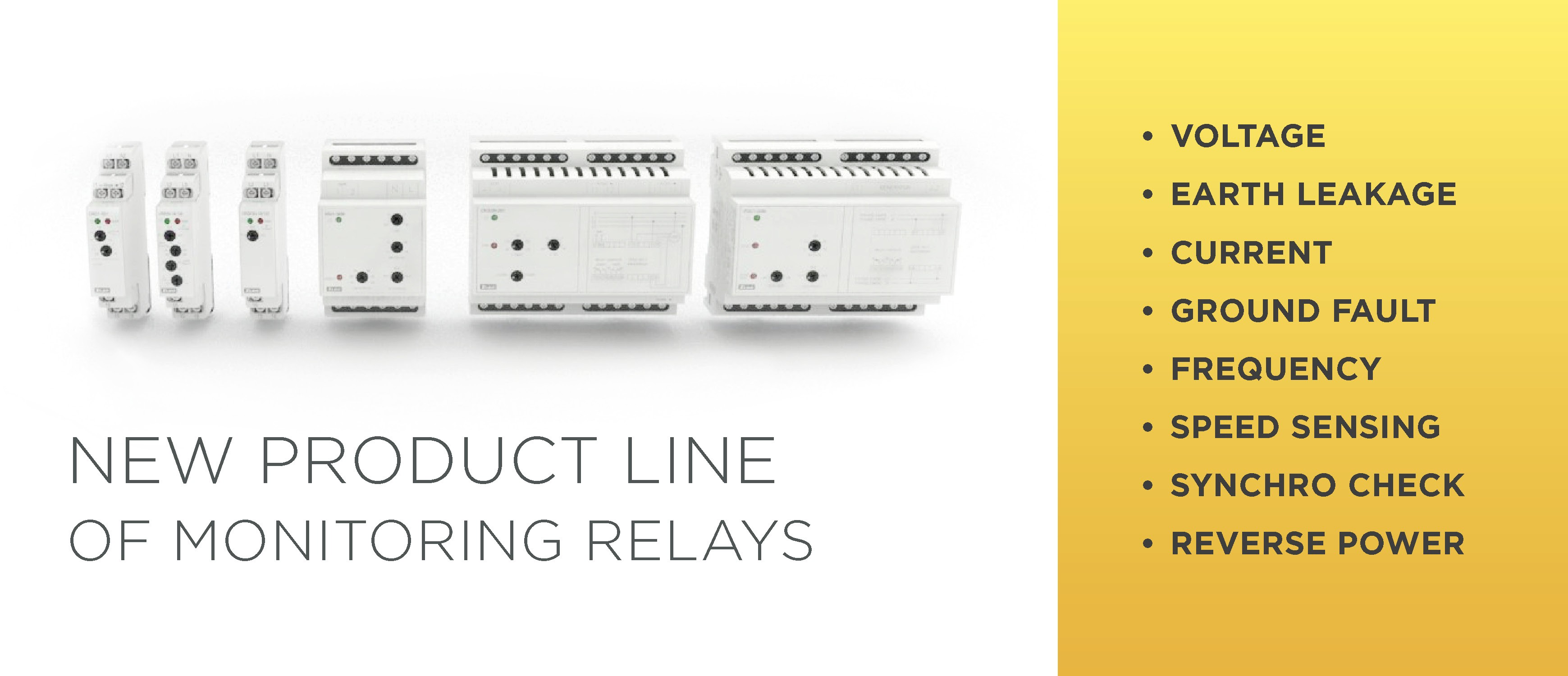 New range of monitoring relays photo