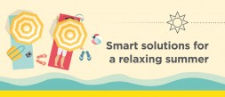 Smart solutions for a relaxing summer photo