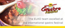 The ELKO team excelled at the international gastro festival photo