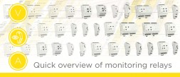 Quick overview of monitoring relays photo