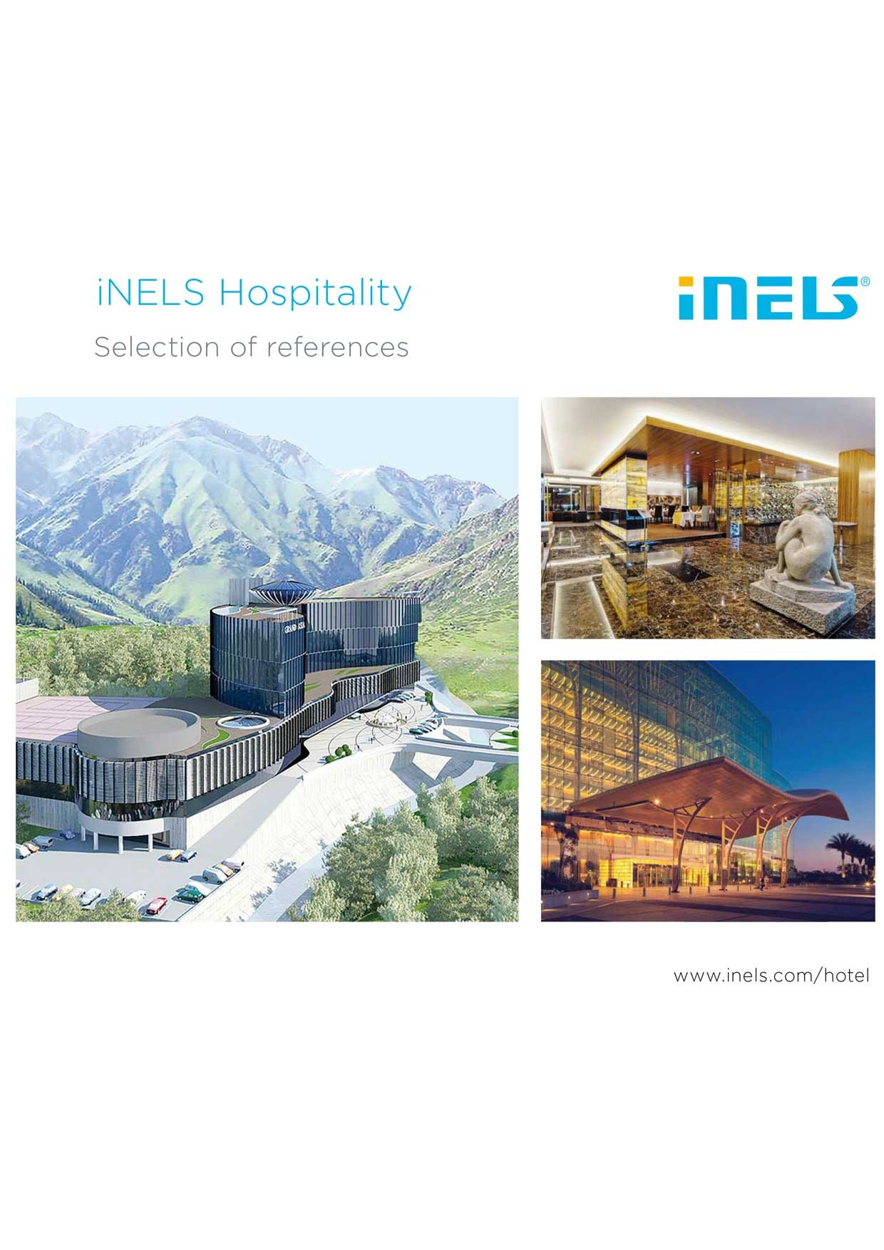 iNELS Hospitality <br>Selection of references preview