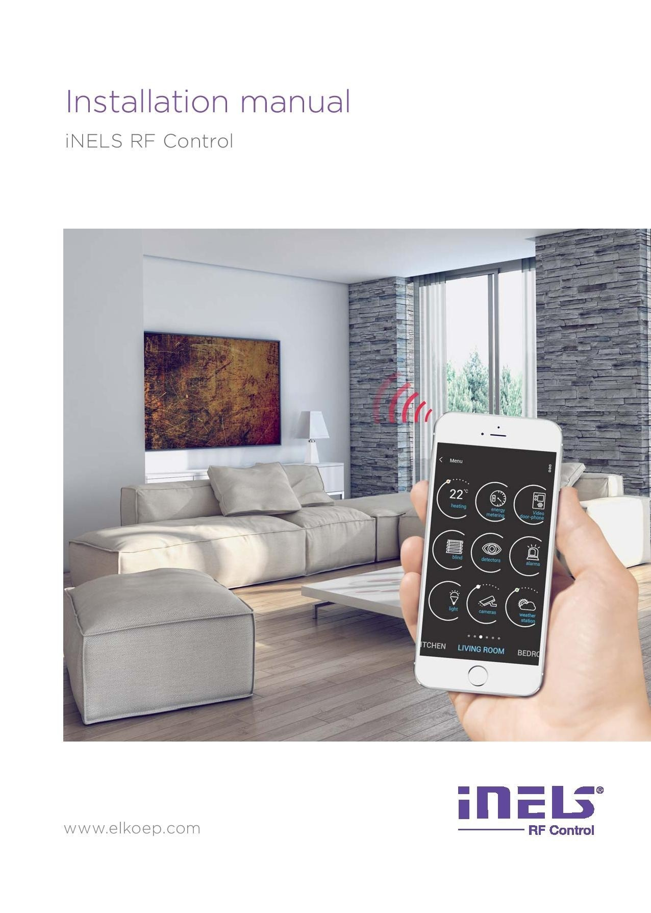 Installation manual iNELS RF Control preview