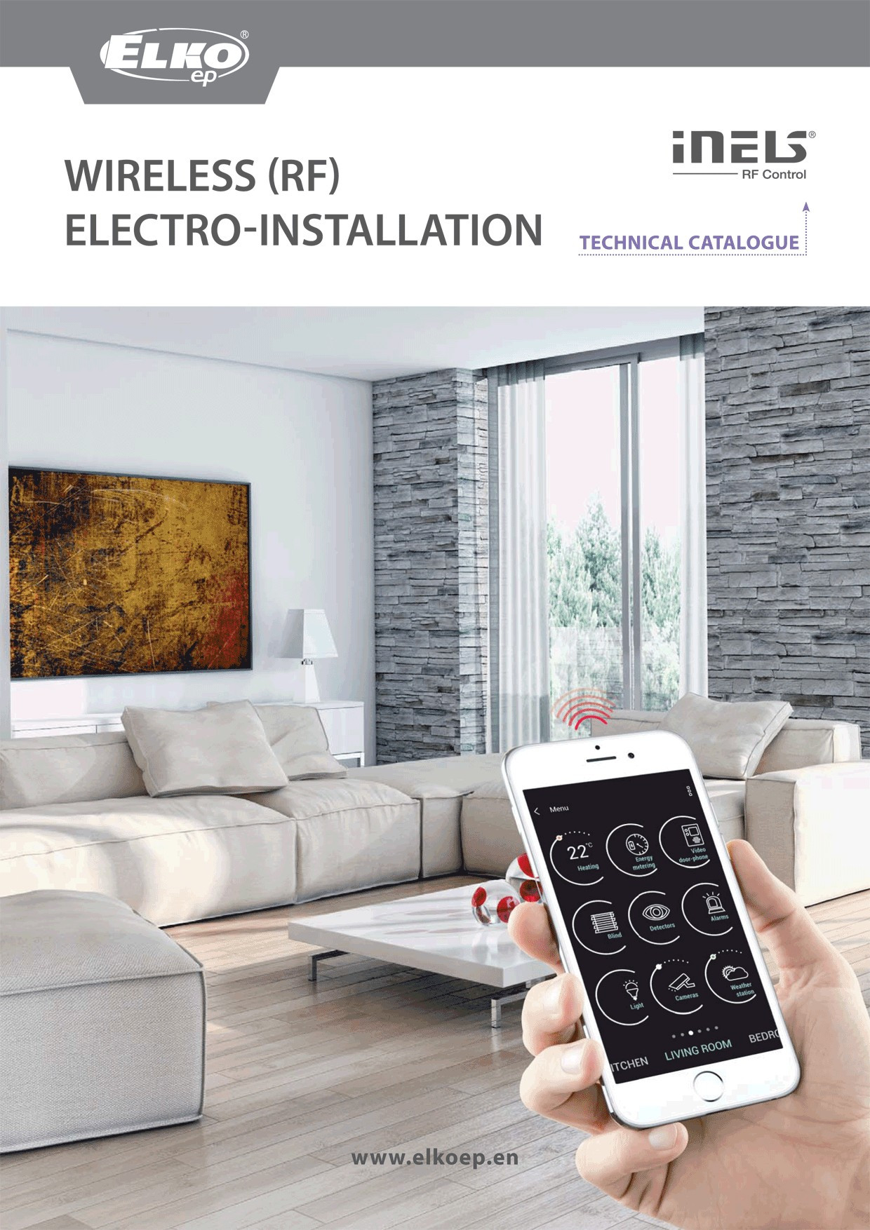 RF wireless electroinstallation preview